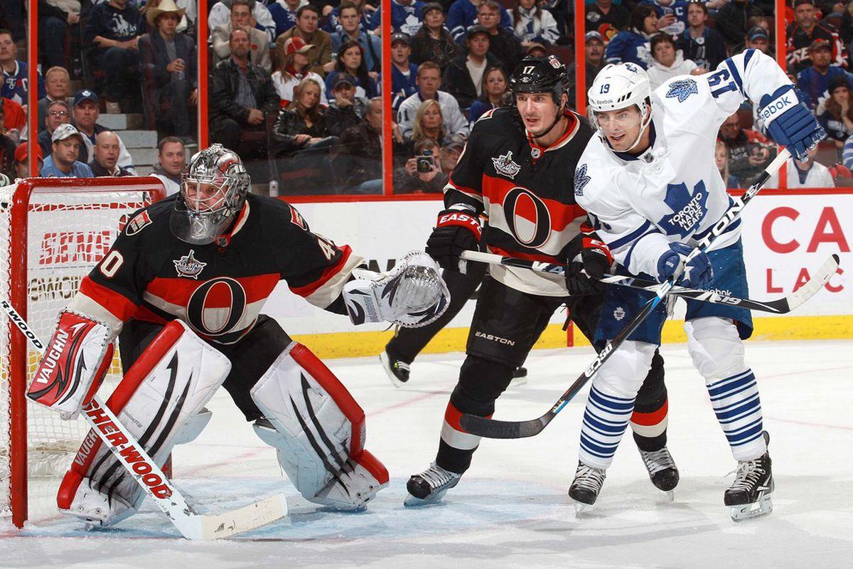 Robin Lehner has allowed two of the 162 goals Ottawa Senators goaltenders have let in so far this season.
