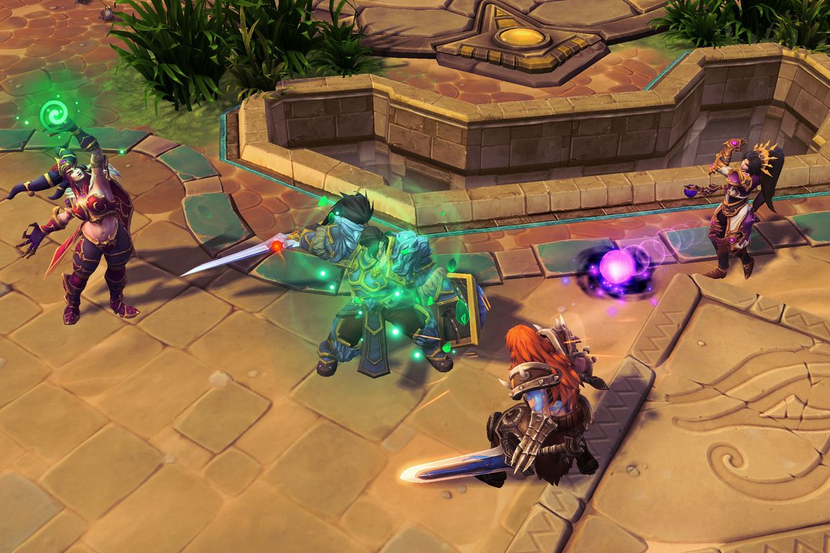 Heroes of the Storm fights for a smaller, but passionate audience