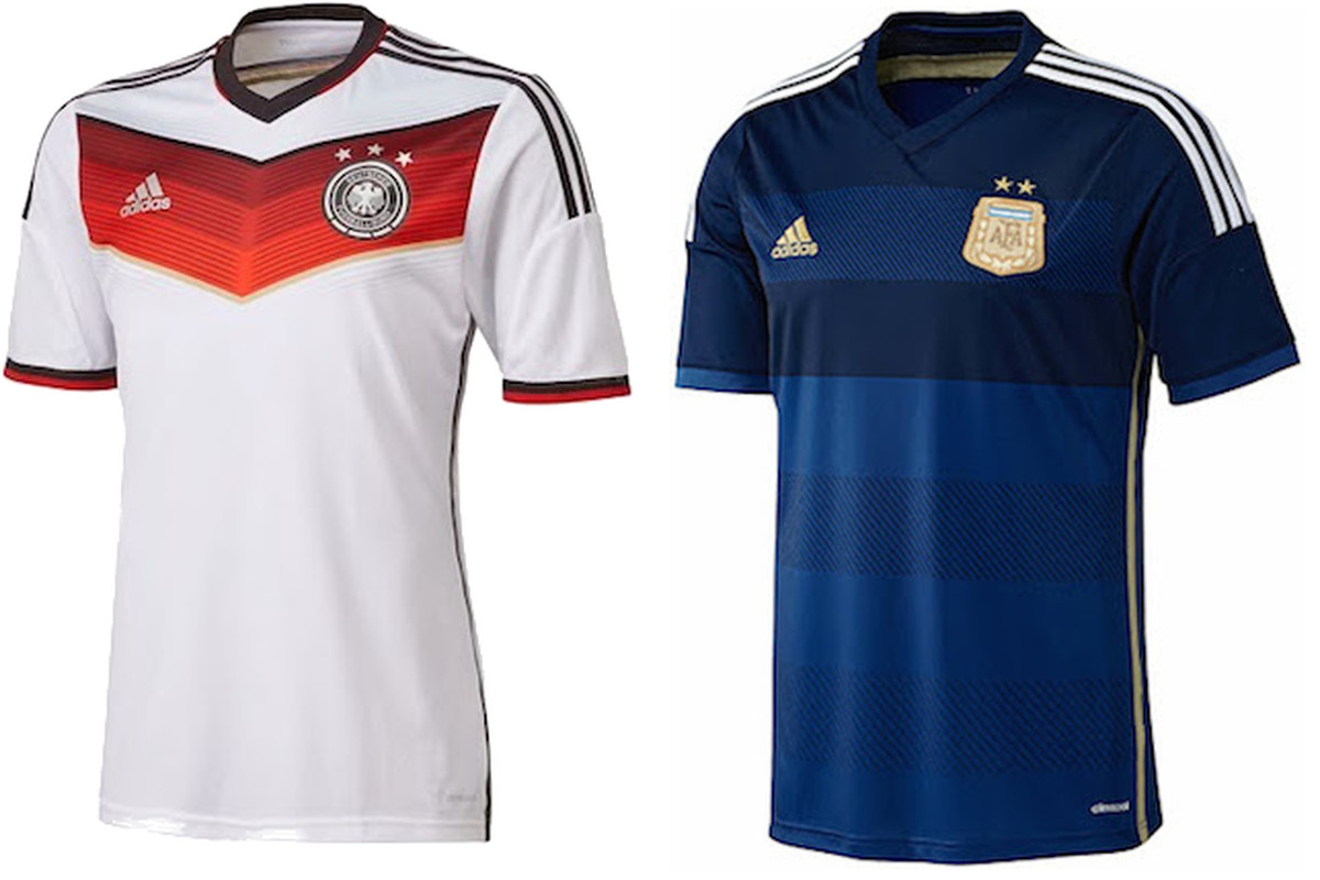 Which kits will Germany and Argentina wear in the World Cup final ... fc8640f6e