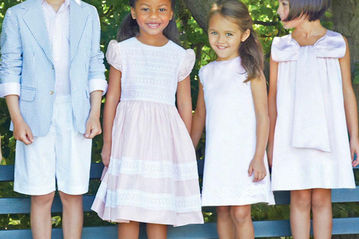 "Image via <a href=""http://www.odlrlookbook.com/childrenswear2014/enter/stl_4.html"">Oscar de la Renta</a>"