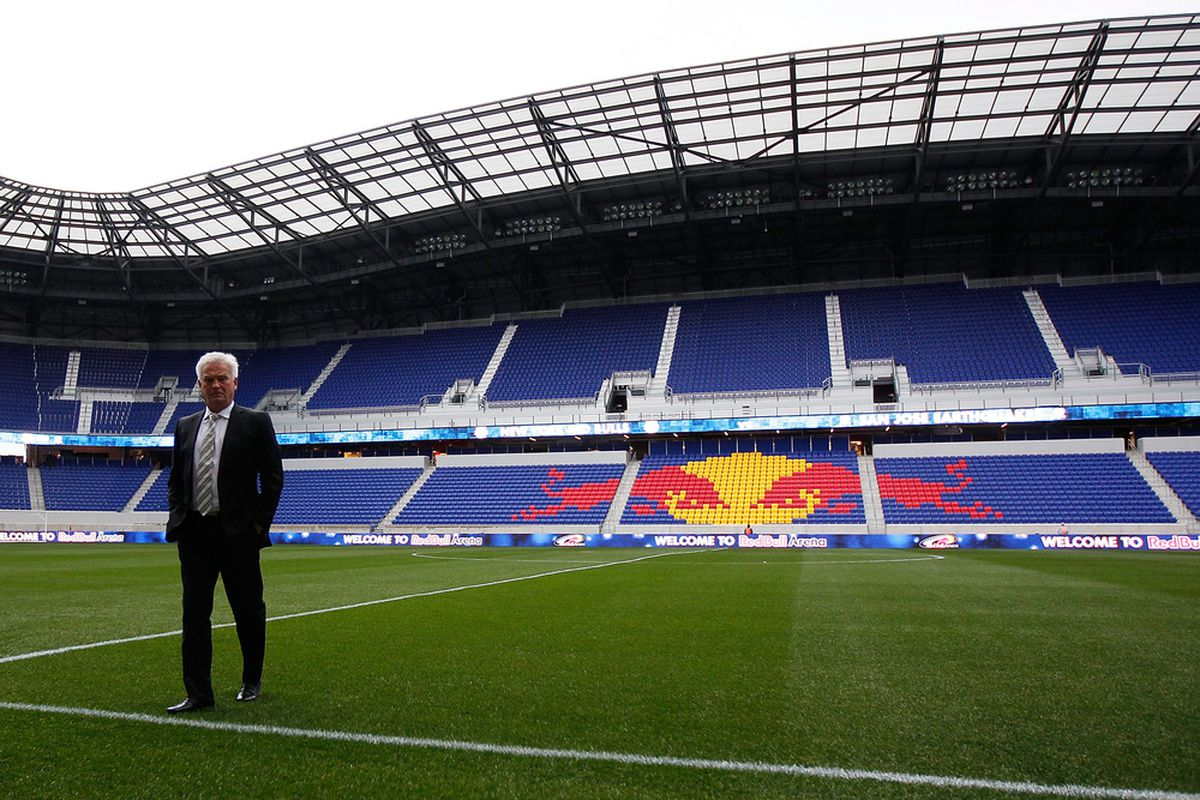 Is the New York market ready for a second MLS team?  I would love to see a lot more support for the team they have already before taking that leap, but MLS thinks otherwise. (Photo by Mike Stobe/Getty Images for New York Red Bulls)