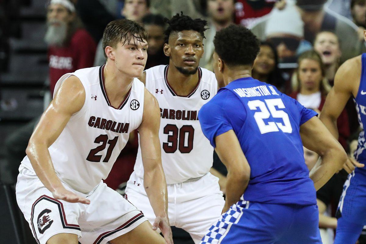 Kentucky Wildcats Vs South Carolina Basketball 2019