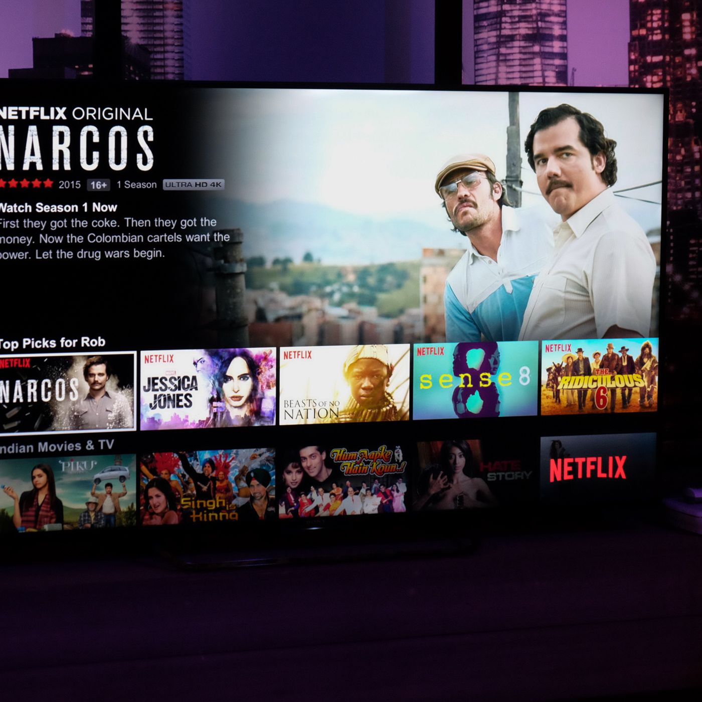 Unofficial Netflix catalog helps you find a movie not
