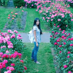 """""""On this trip, I learned that one of the simple joys of life is to stop and smell the roses."""""""