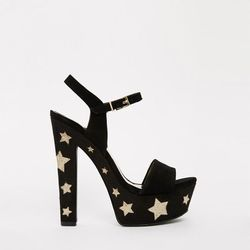 """<b>KG by Kurt Geiger</b>, <a href=""""http://us.asos.com/kg-kurt-geiger/kg-by-kurt-geiger-heidi-stars-platform-heeled-sandals/prod/pgeproduct.aspx?iid=4258837&clr=Blacksuede&SearchQuery=platforms&pgesize=204&pge=1&totalstyles=286&gridsize=4&gridrow=29&gridco"""