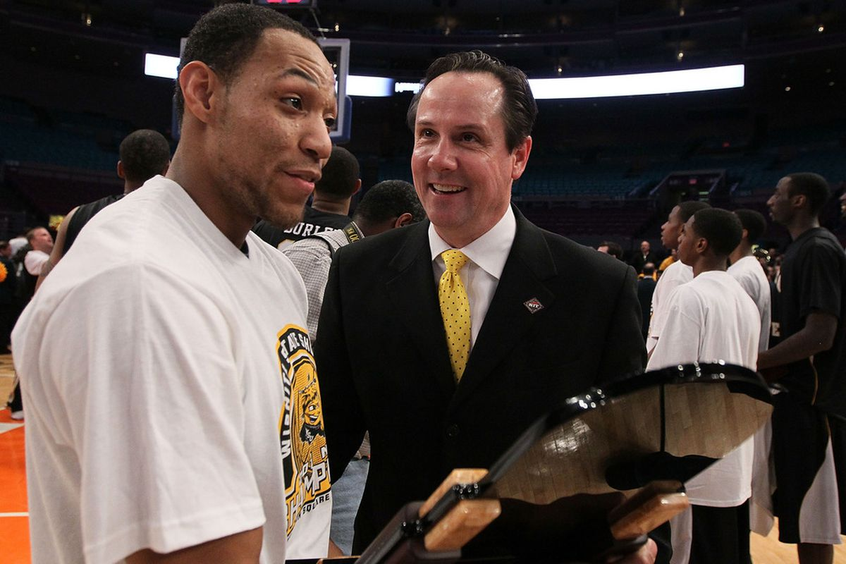 Will Texas A&M dive back into Wichita State for a hire? (Photo by Jim McIsaac/Getty Images)
