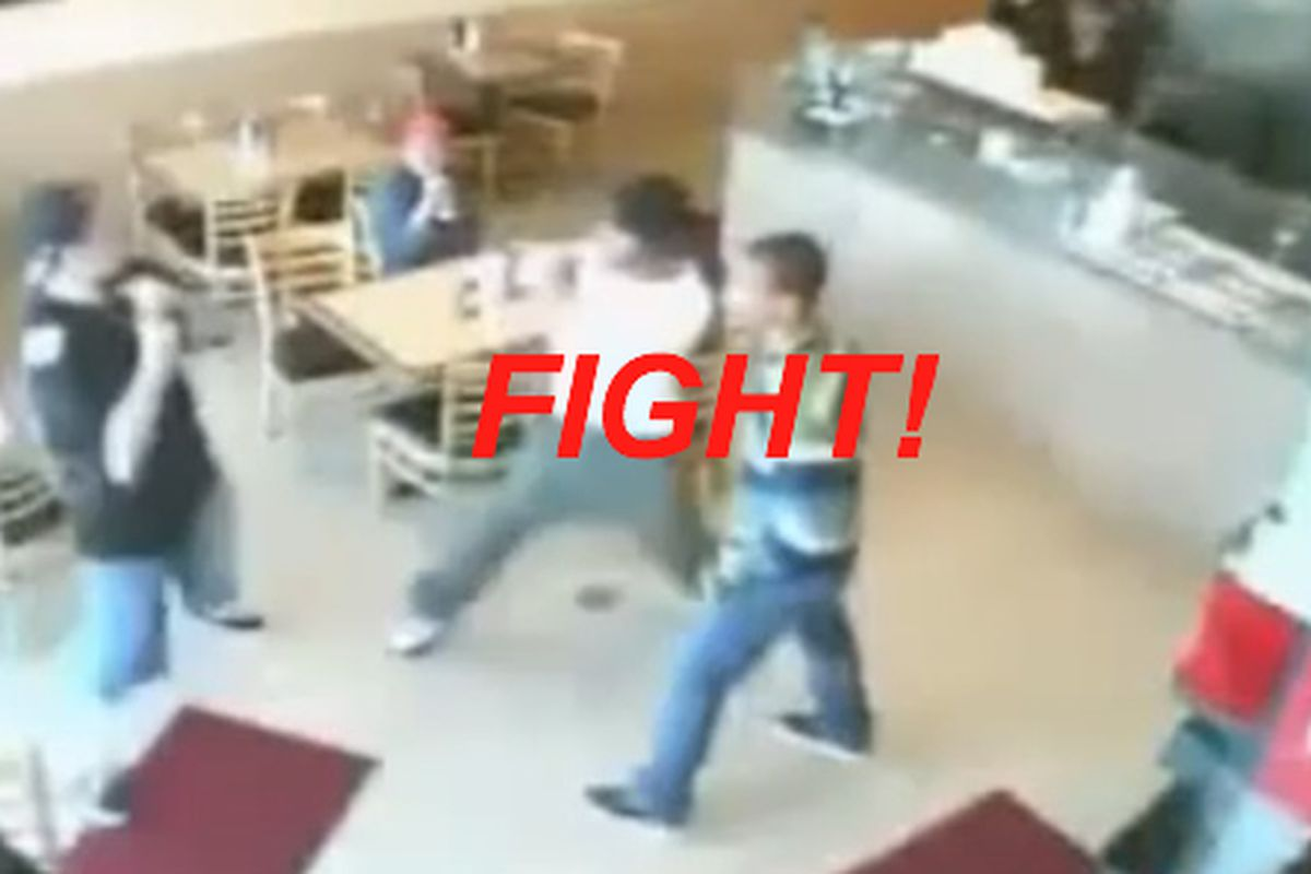 Watch a Taco Store Fight Remixed, Street Fighter-Style - Eater