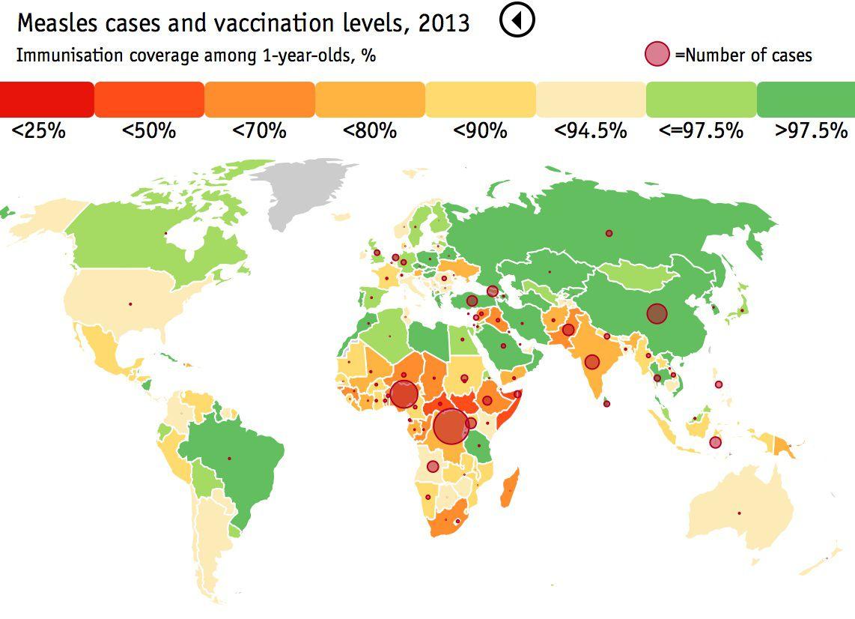 measles economist