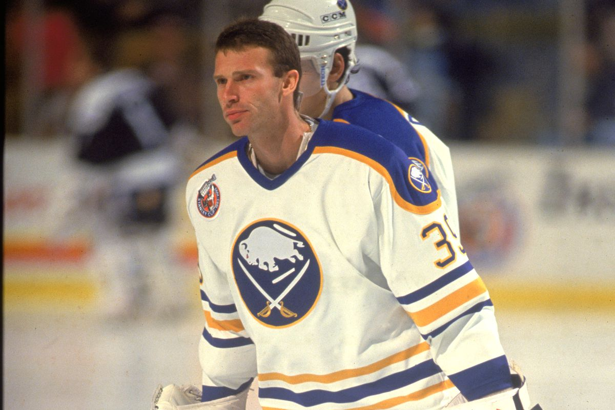 Hasek outlasts Brodeur, Buffalo Sabres win in fourth overtime - Die By The  Blade