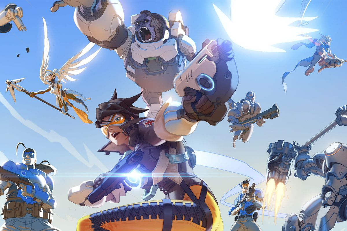 Overwatch Wallpaper Dual Monitor: Overwatch Added To Humble Bundle's Monthly Subscription