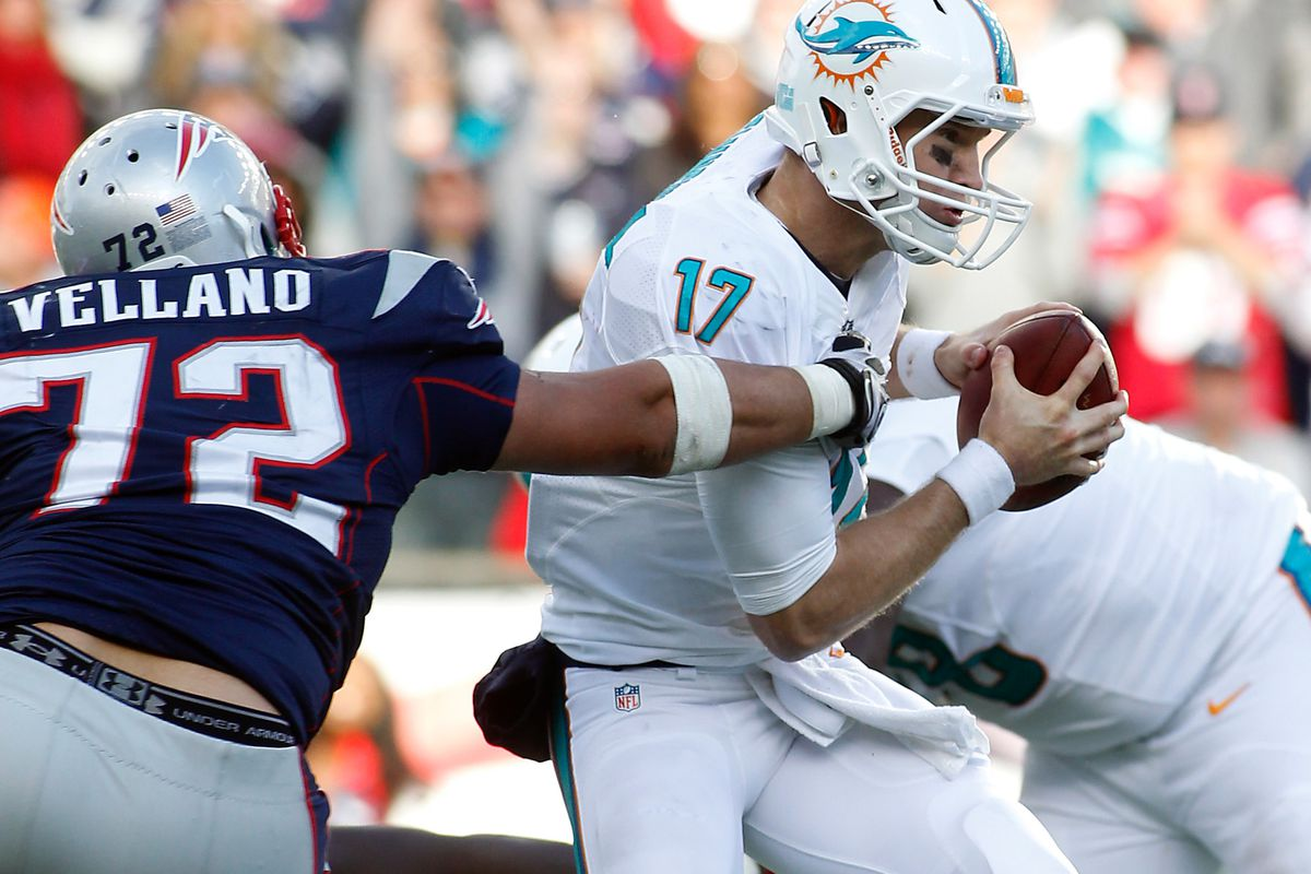 UDFA Joe Vellano did an admirable job for a 1st-year player, trying to fill Wilfork's big shoes.