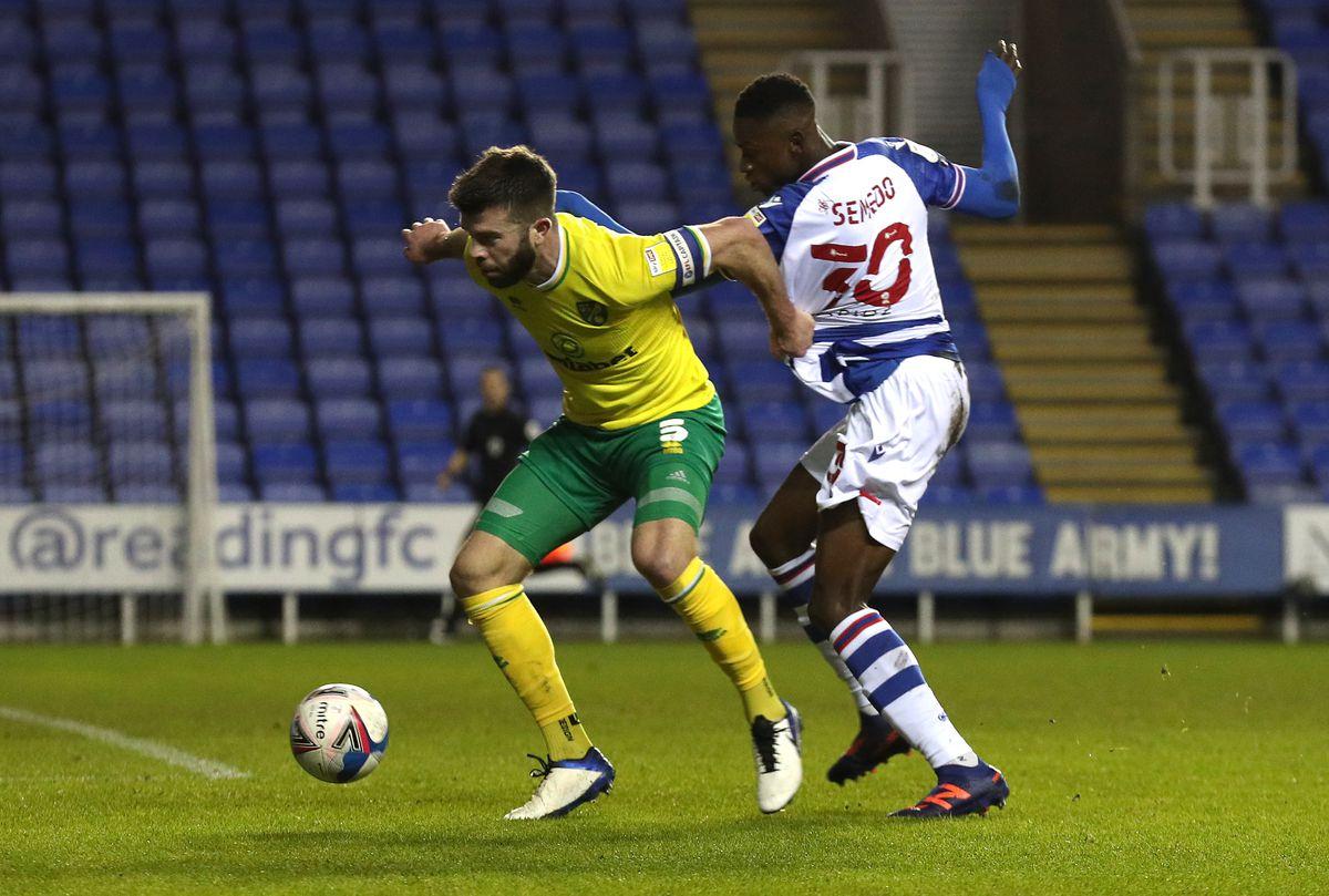 Reading v Norwich City - Sky Bet Championship - Madejski Stadium