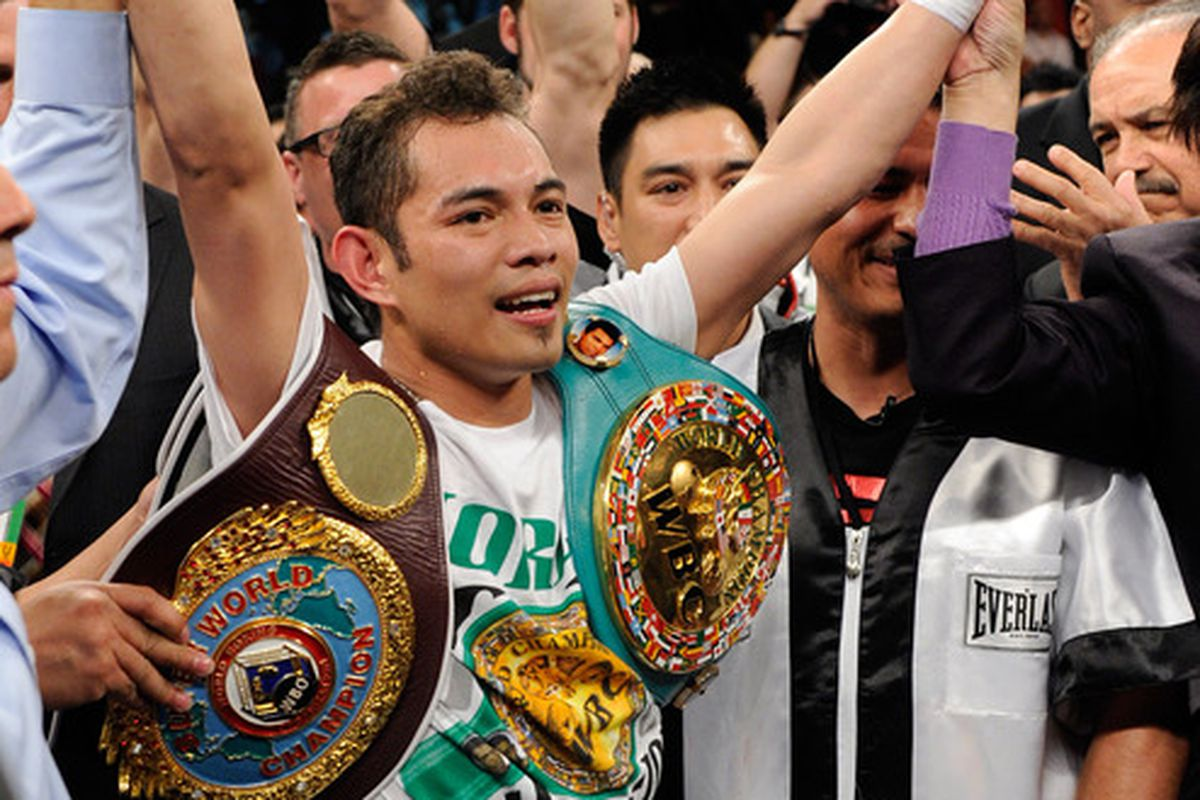 Nonito Donaire could be headed to the Big Apple on October 22. (Photo by Ethan Miller/Getty Images)