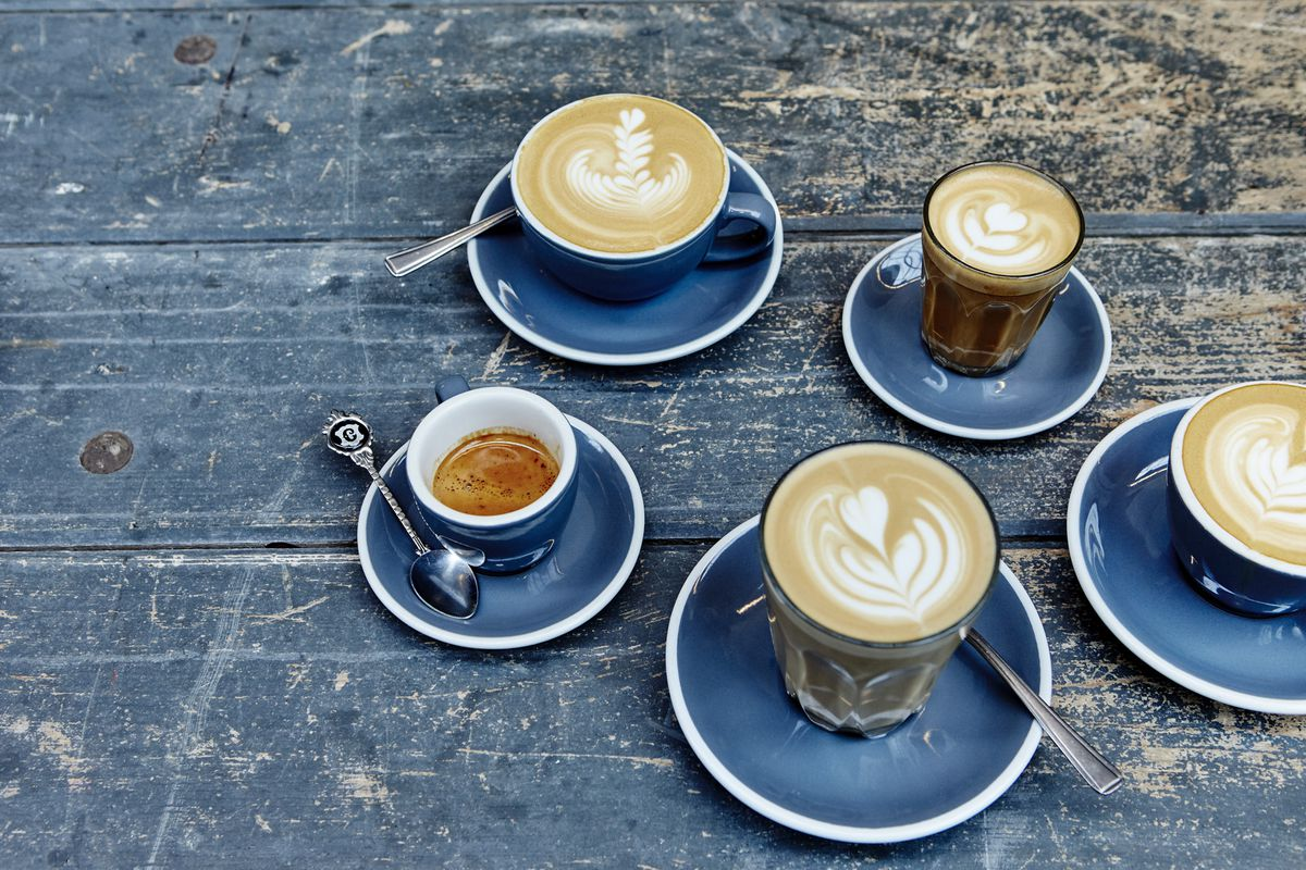 Speciality coffee at Caravan, one of London's most successful cafes. McDonalds wants to roll out barista coffee having lampooned it for two years