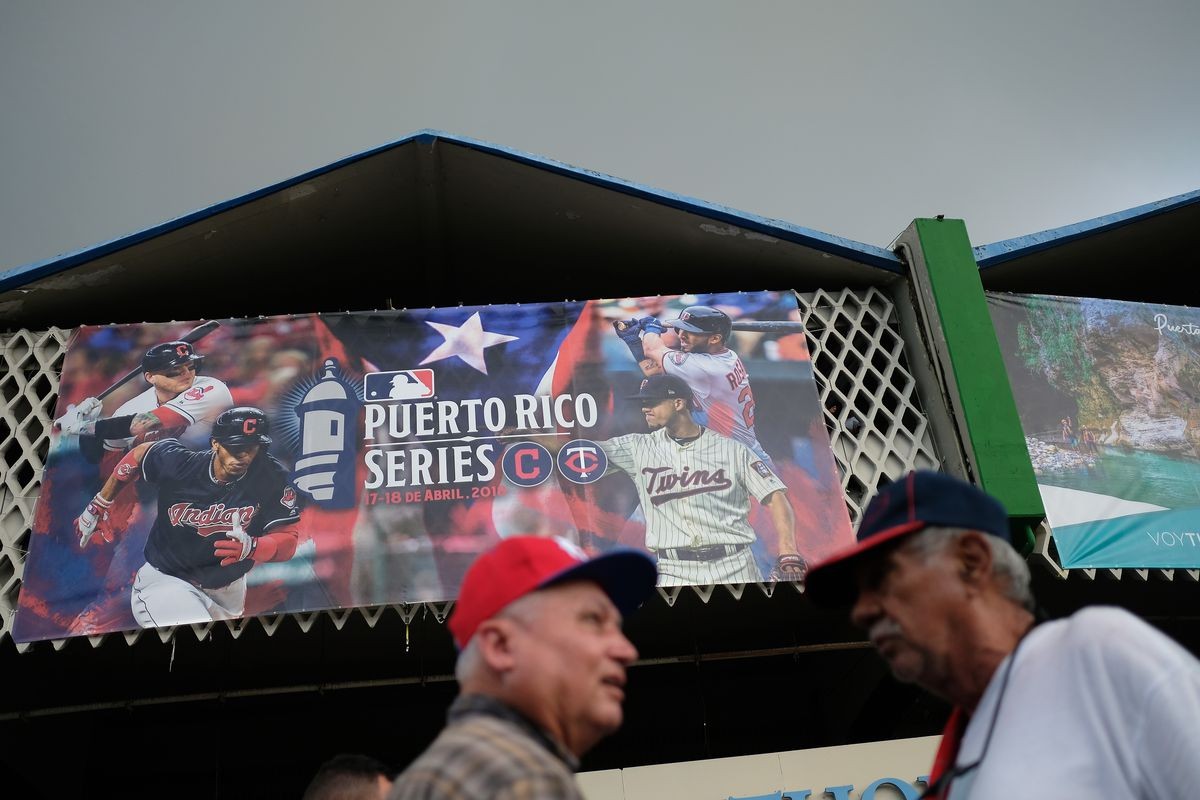 Jose Berrios and Francisco Lindor face off tonight in their native Puerto Rico