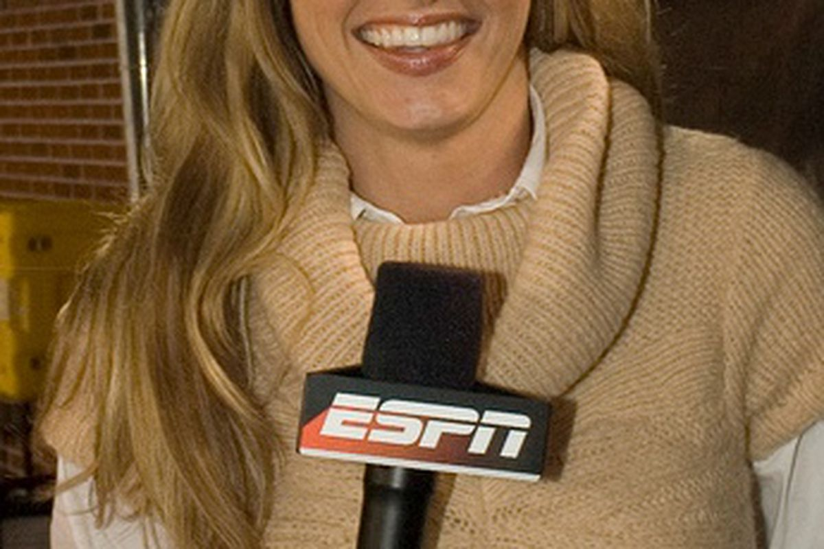 """OMG ERIN ANDREWS AND BIG TEN EXPANSION IN THE SAME POST.  Just wanted to see if I could make The Google explode. (<a href=""""http://cameronfrye.files.wordpress.com/2009/07/erin-andrews-photo.jpg"""">Via</a>)"""
