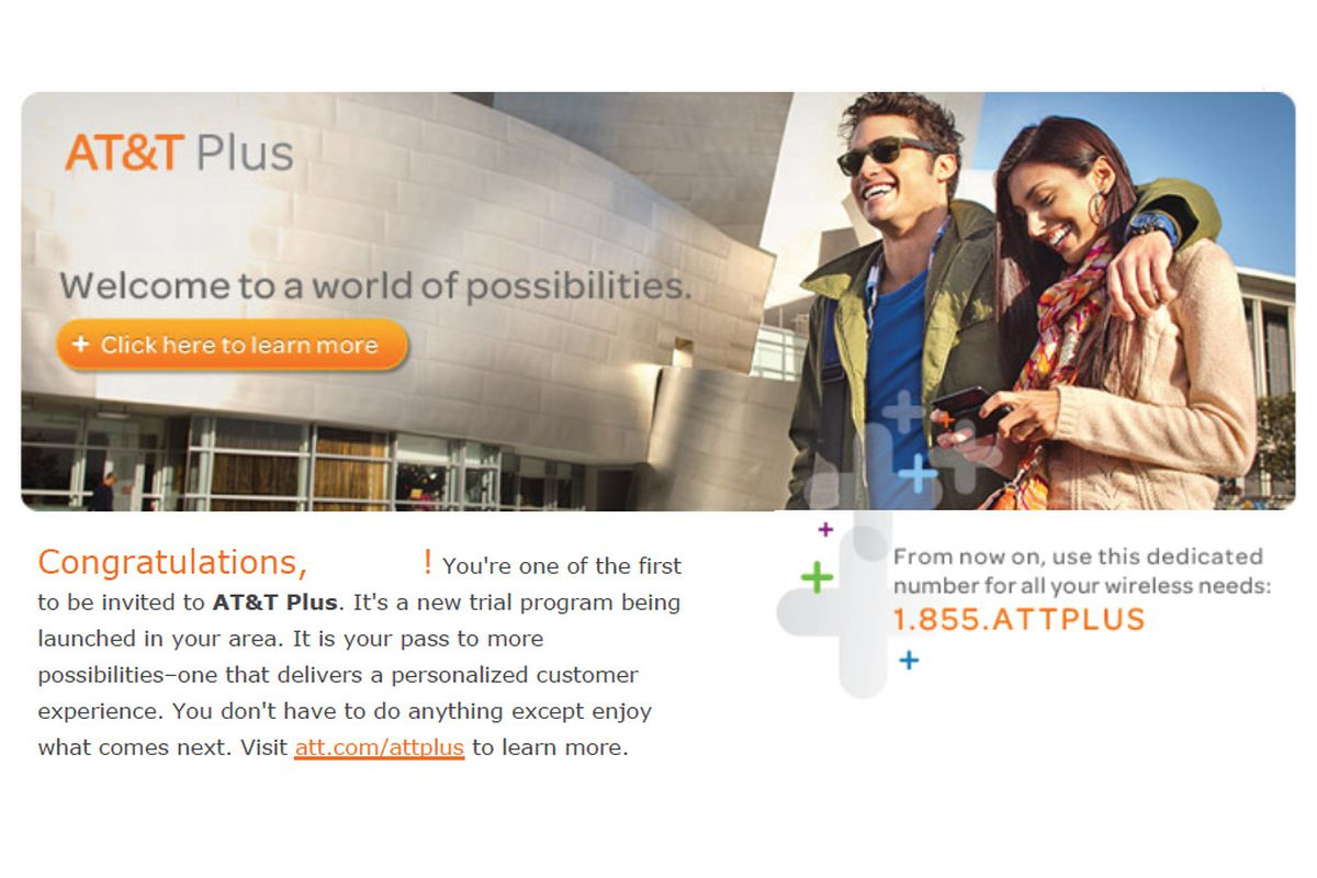 At T Launching Plus Loyalty Program Discounts Dedicated Support
