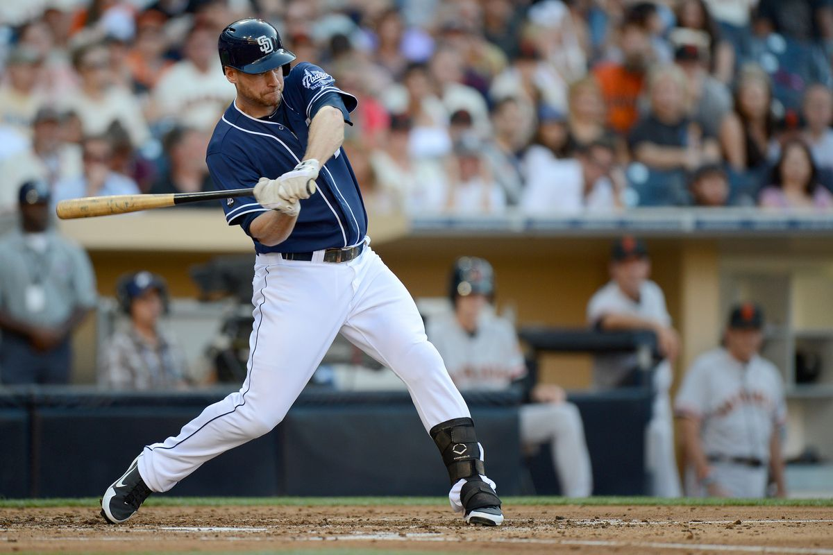 Chase Headley has set a new career-high in home runs.  He'll look to keep it going against the Pirates.  (Jake Roth-US PRESSWIRE)
