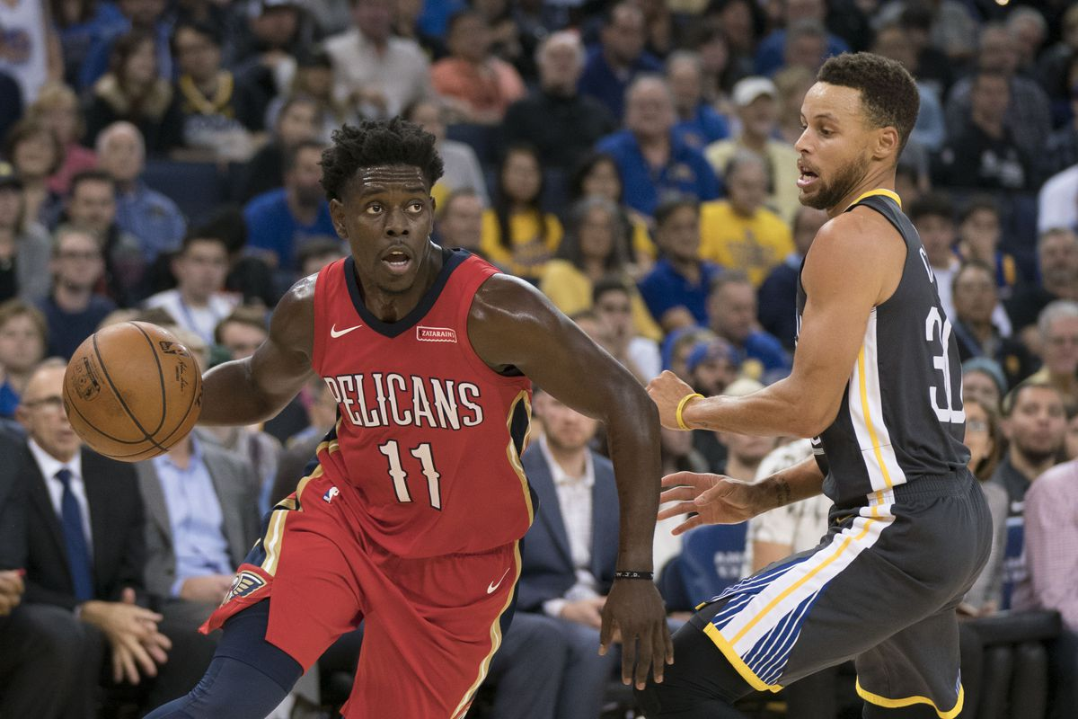 f5b8faacee1f 2018 NBA Playoffs  Stephen Curry on verge of return for Golden State  Warriors but New Orleans Pelicans offense too overlooked in second round  matchup
