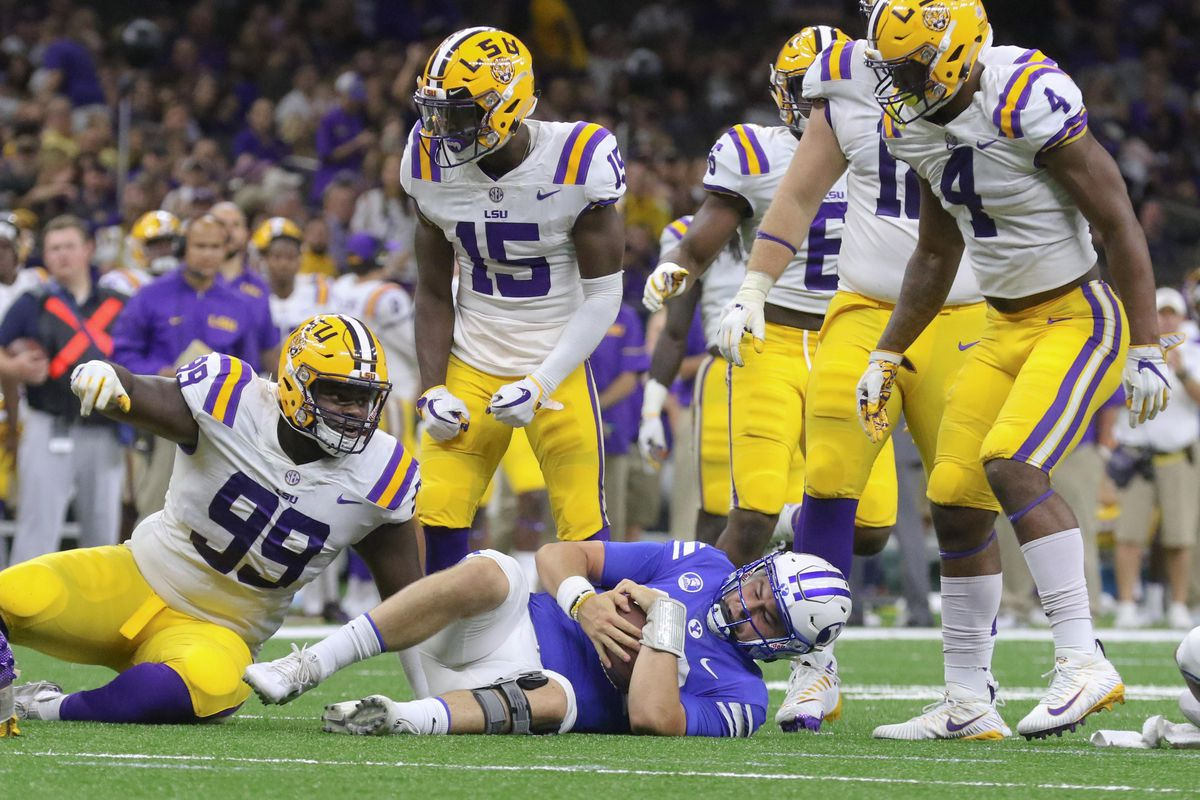 NCAA Football: Louisiana State vs Brigham Young
