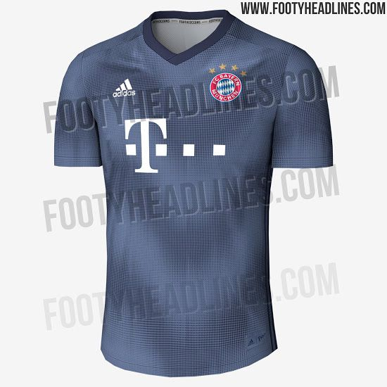 bf9e82f7 The design concept for Bayern's third kit for 2018/2019 Footy Headlines