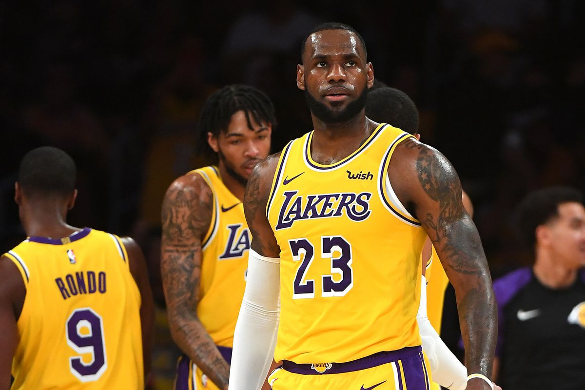 93a4ac57730c Lakers News  LeBron James says Brandon Ingram is  going to be a ...