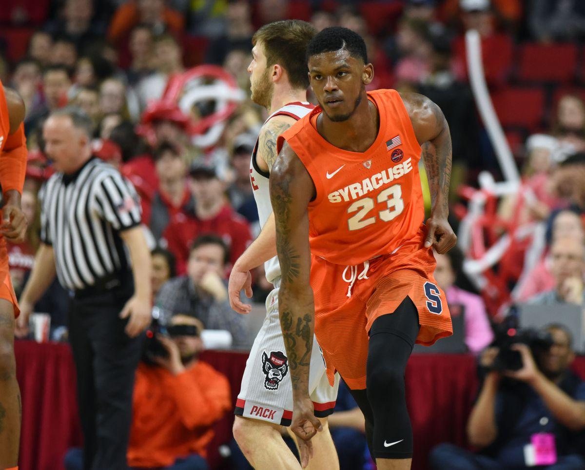 NCAA Basketball: Syracuse at N.C. State