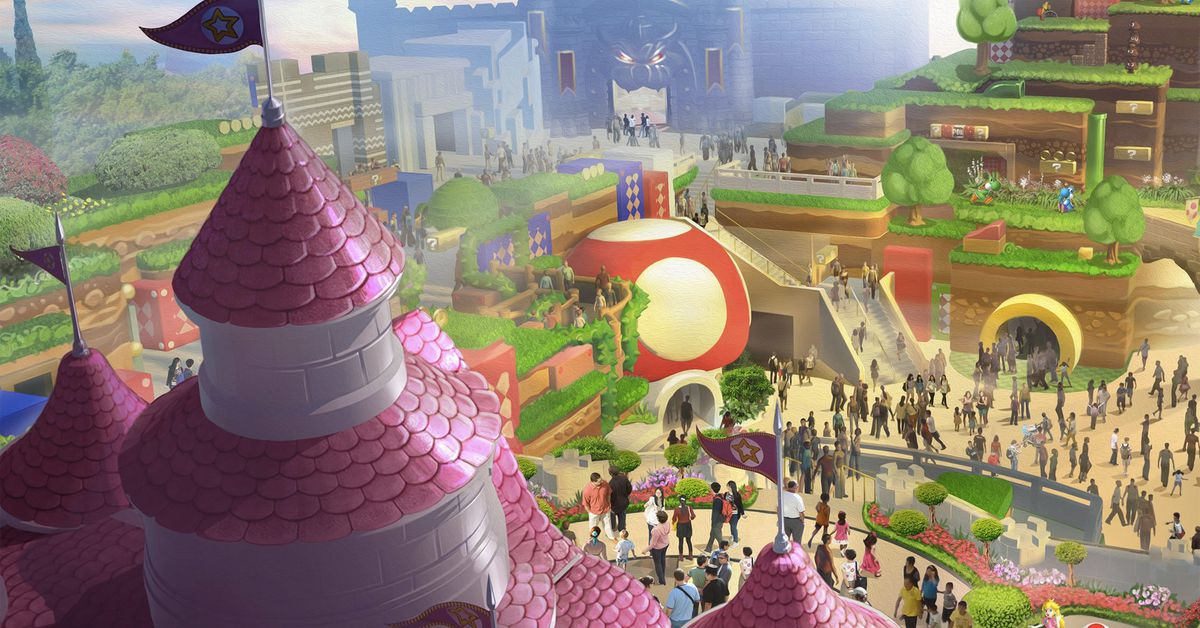 Video of Super Nintendo World's Mario Kart ride is like being there – Polygon