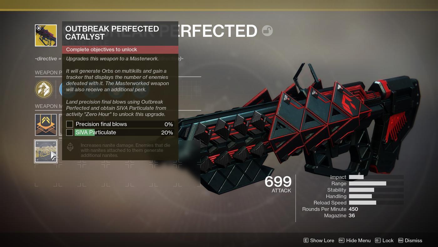 Destiny 2 Outbreak Prime Catalysts guide, Heroic Zero Hour