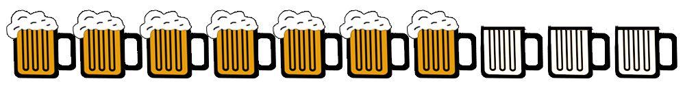 7 beers