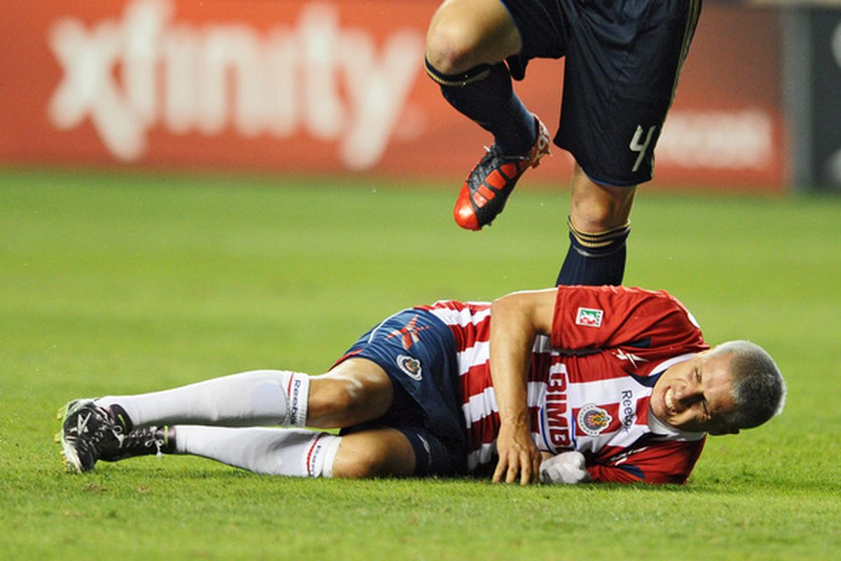 Could Bofo and Califf become teammates at Chivas USA?