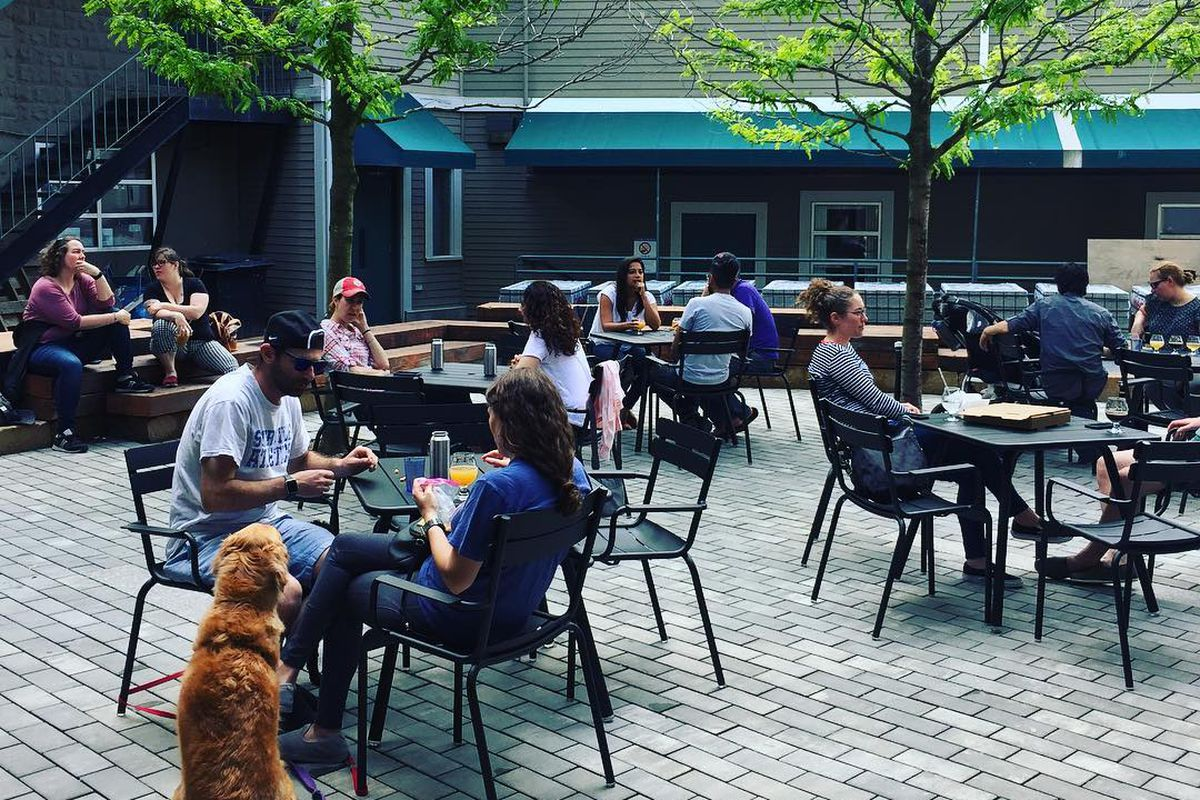 The Remnant Brewing patio