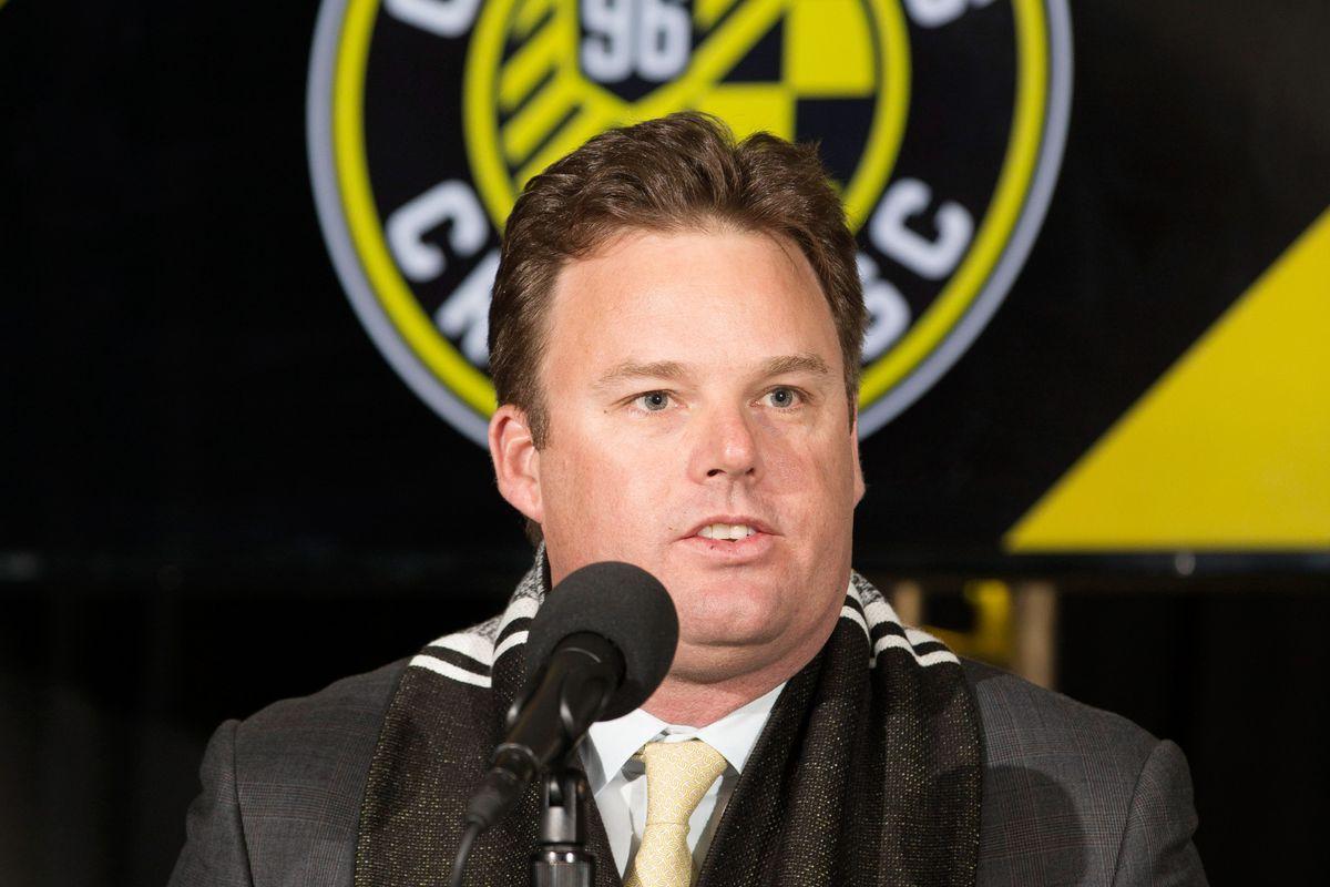MLS: Columbus Crew SC-Press Conference