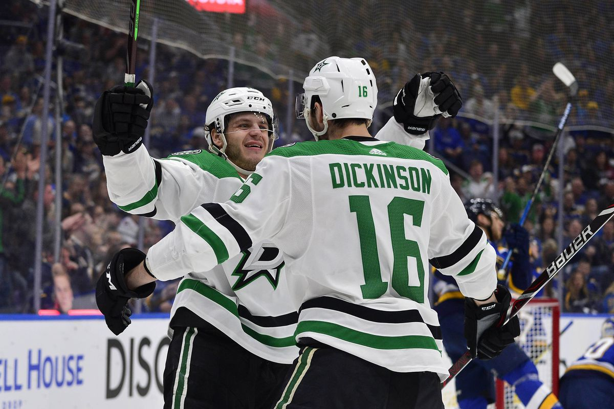 NHL: Stanley Cup Playoffs-Dallas Stars at St. Louis Blues