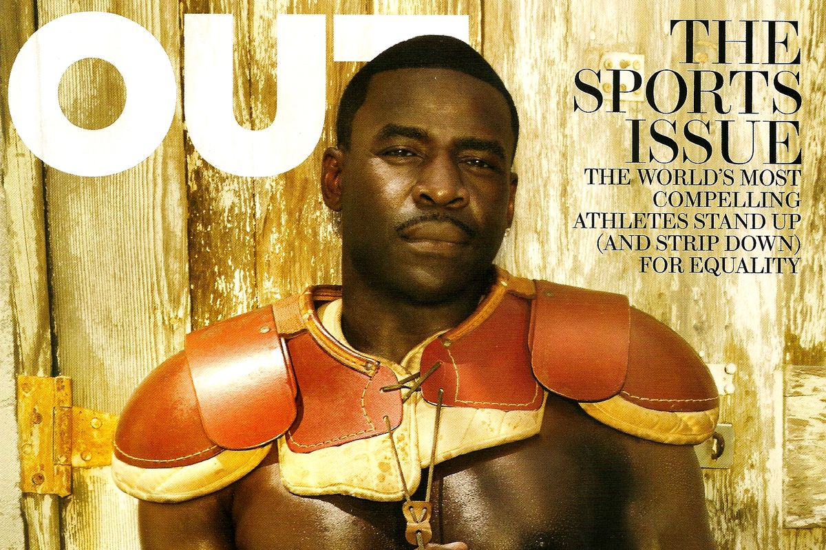 Michael Irvin appeared on the August 2011 cover of Out magazine.