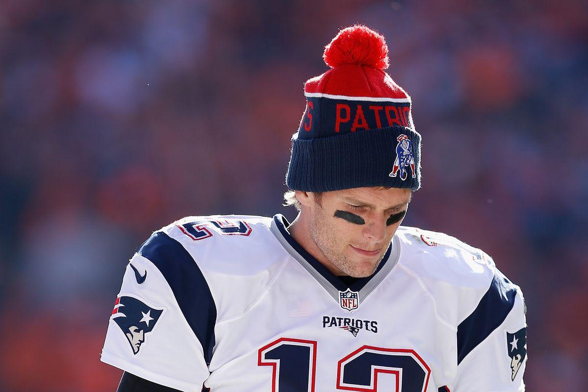 9fbeff60c10 Photo by Christian Petersen Getty Images. New England Patriots quarterback Tom  Brady ...
