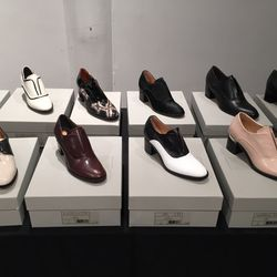 Loafers and oxfords stock, 75% off