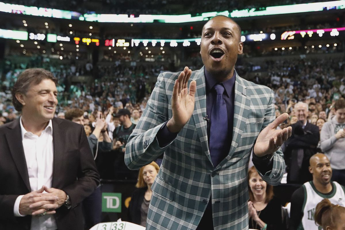 premium selection 00d0d fa7c7 Ray Allen tributes Paul Pierce on Instagram - CelticsBlog