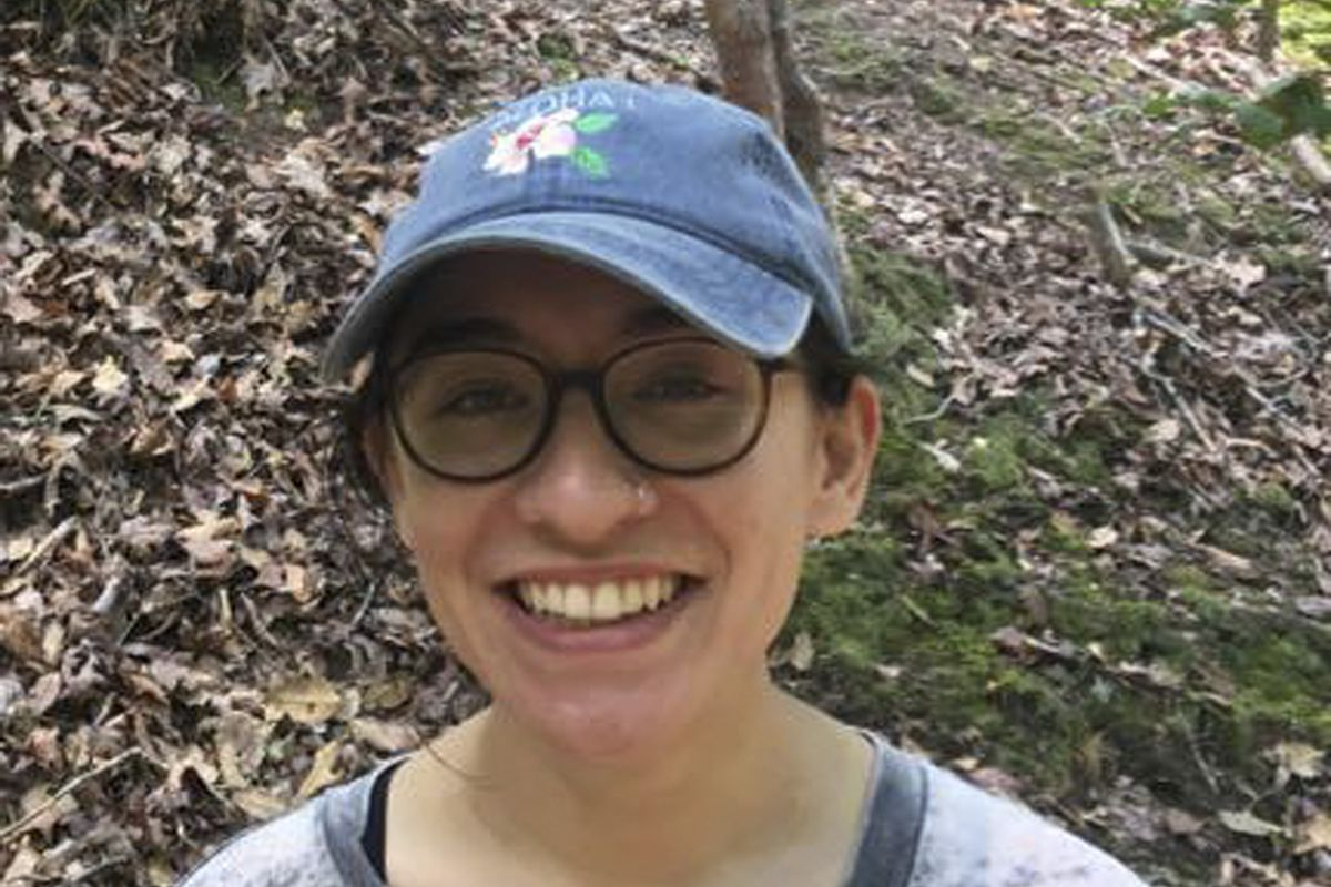 This undated photo provided by Alqasem family shows Lara Alqasem, a 22-year-old American graduate student with Palestinian grandparents, who landed at Ben-Gurion Airport Tuesday, Oct. 2, 2018, with a valid student visa. But she was barred from entering th