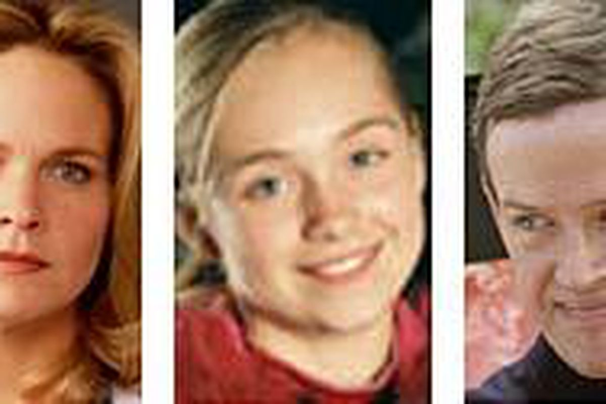 Lindsay Frost, Amber Marshall and Dylan Baker