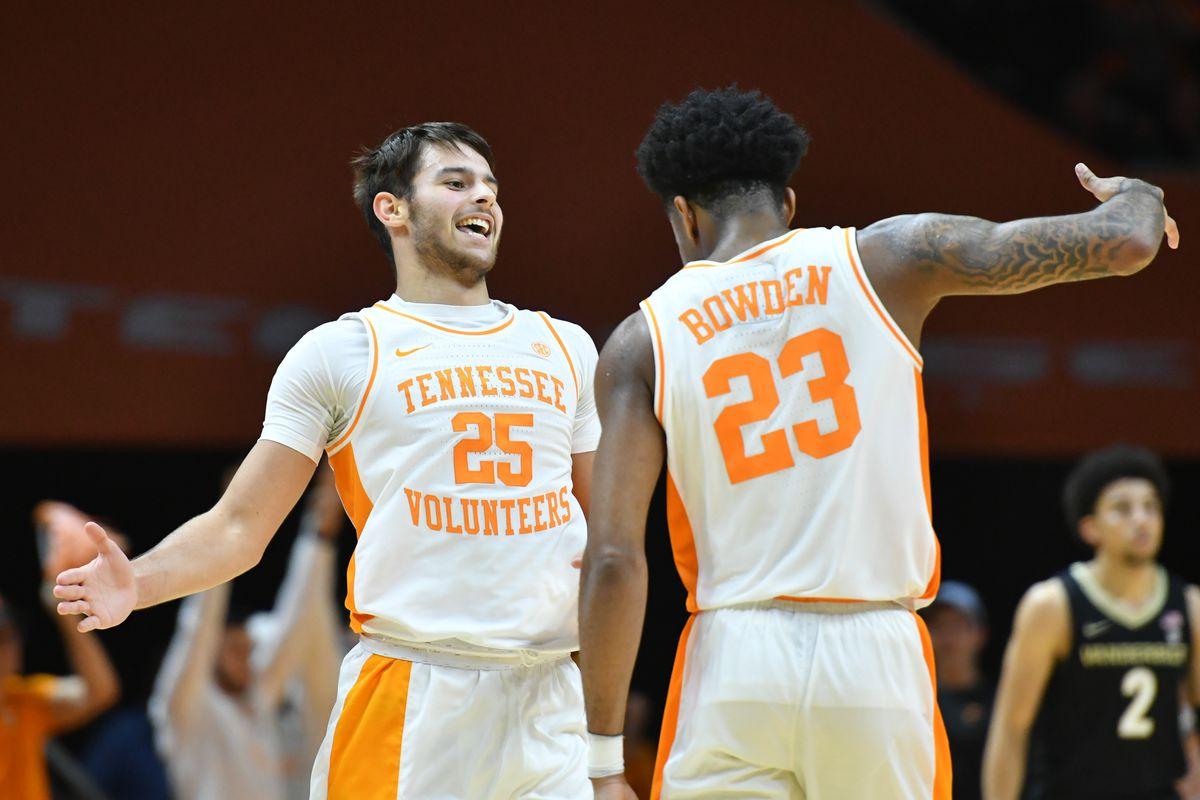 NCAA Basketball: Vanderbilt at Tennessee