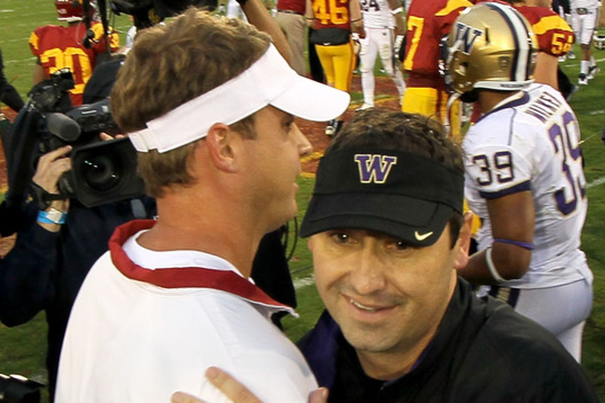 You are both welcome to coach in the Pac-12 for a long, long time.