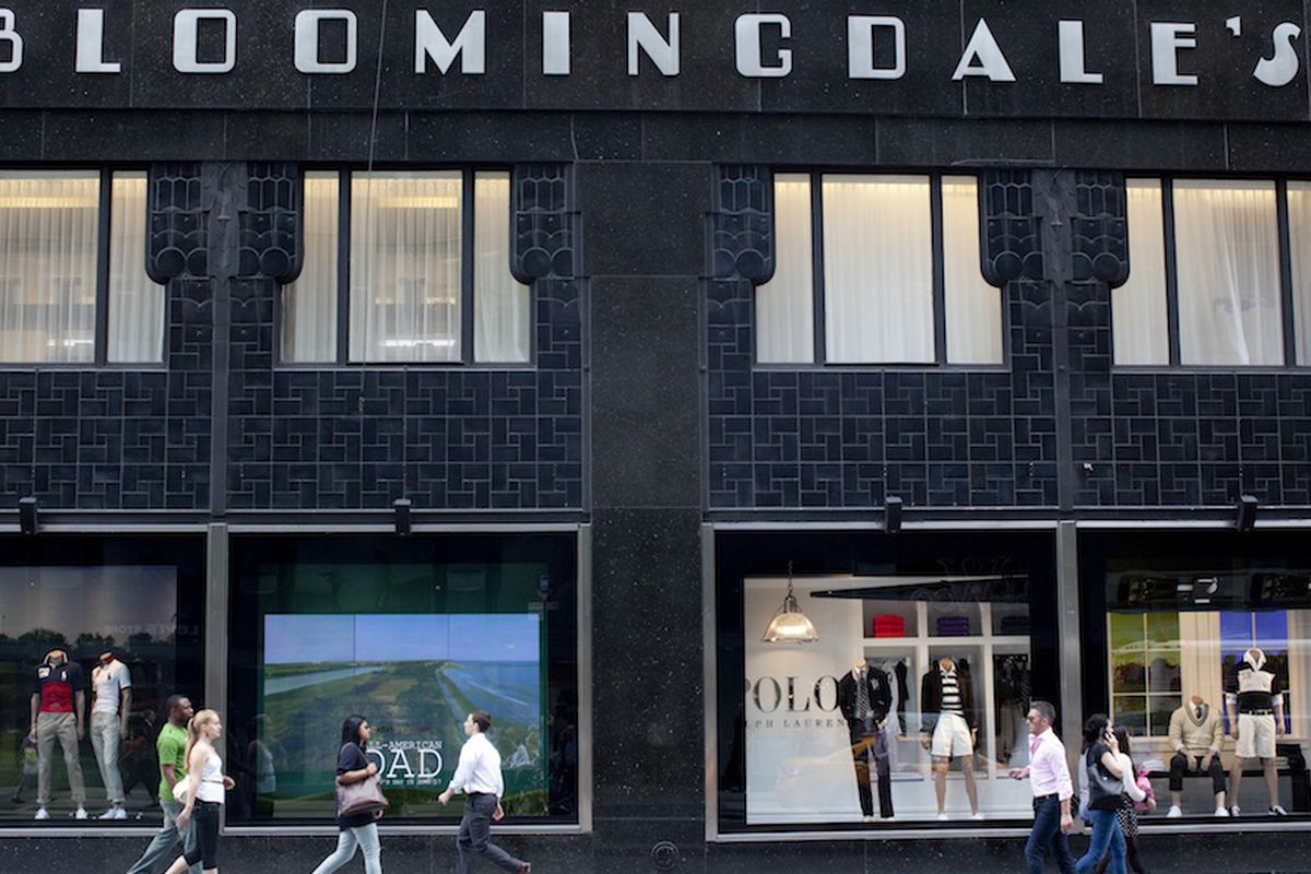 Bloomingdale's in New York City. Photo by Brian Harkin for Racked NY