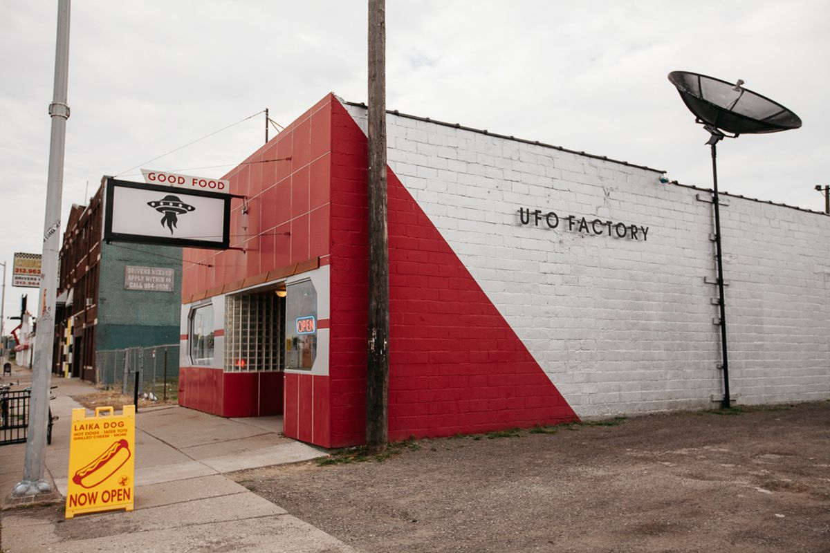 UFO Factory Forced to Close After Construction Crews Damage Building - Eater Detroit