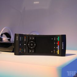Sony Introduces Voice Controlled Google Tv Remote The Verge
