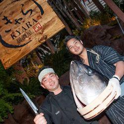 Chefs from Naked Fish at UNLVino Sake Fever.