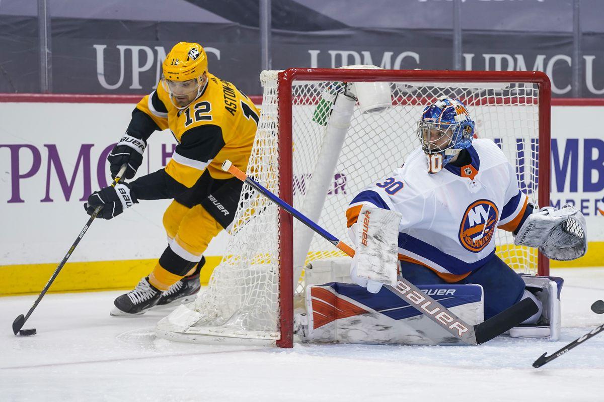 NHL: MAR 27 Islanders at Penguins