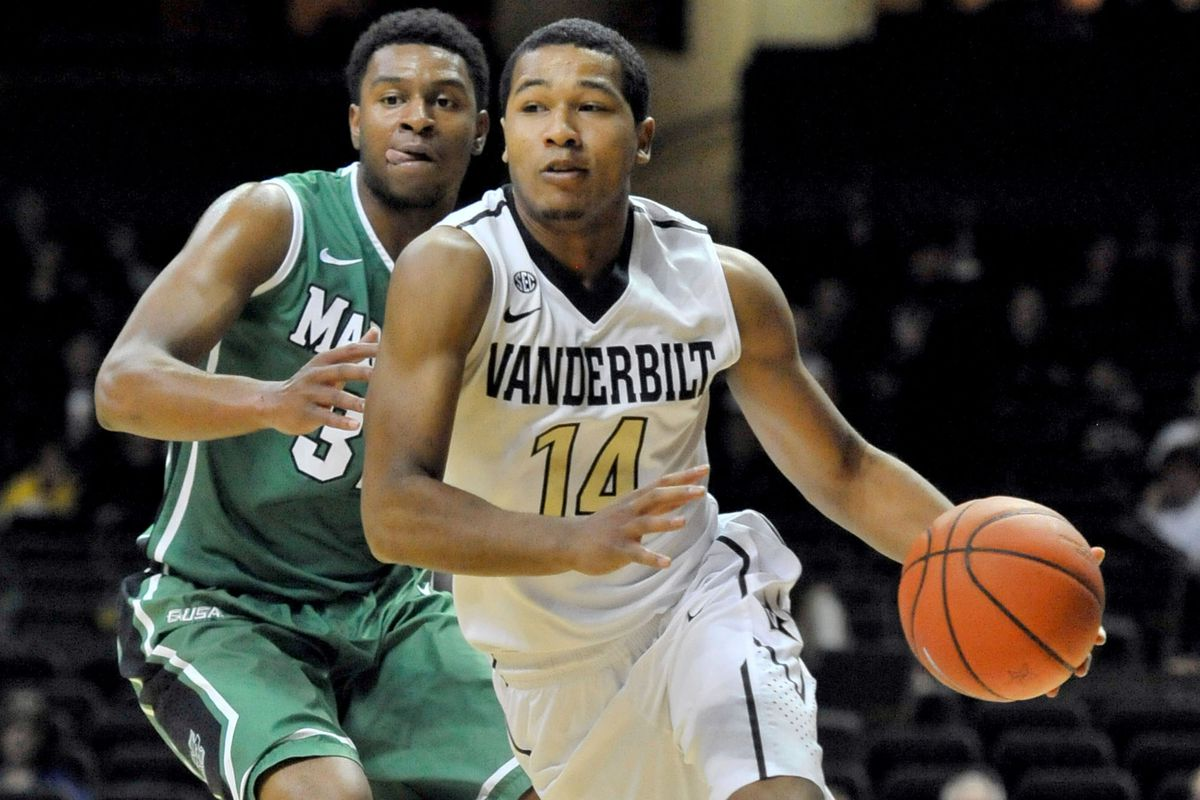 Carter Josephs is the most experienced member of the Vandy backcourt.