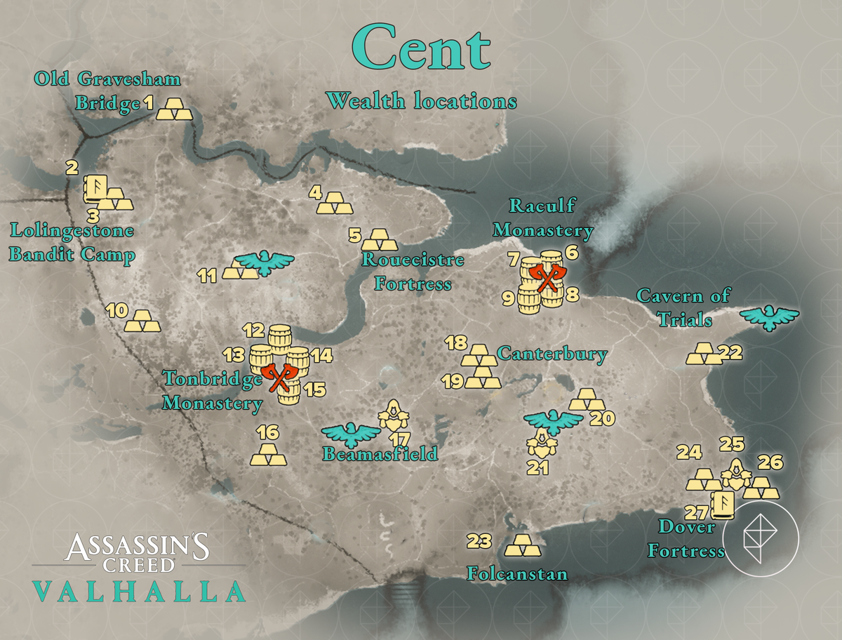 Cent Wealth locations map