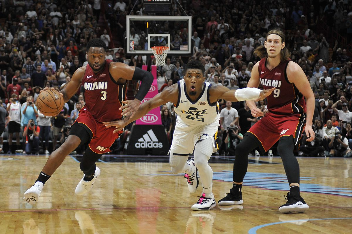 huge selection of 0dc89 392ef Dwyane Wade believes Donovan Mitchell is 'hungry for ...